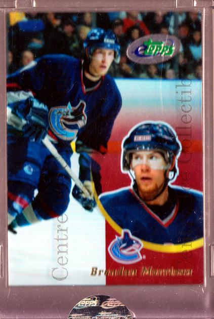 <a href=index.aspx?SetName=2003-04%20Topps%20E-Topps>2003-04 Topps E-Topps</a> #18 <a href=index.aspx?PlayerName=Brendan%20Morrison> Brendan Morrison</a><br/>1 in stock - $5.00 each - <a href=https://centericecollectibles.foxycart.com/cart?name=2003-04%20Topps%20E-Topps%20%2318%20Brendan%20Morriso...&price=$5.00&code=519918 class=foxycart> Buy it now! </a>