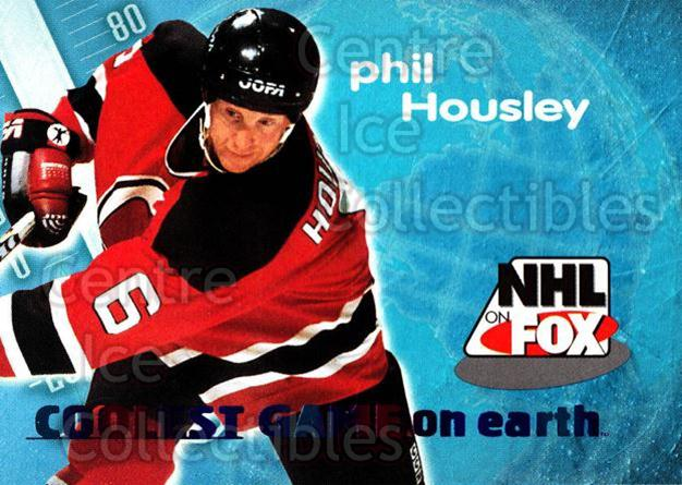 1996-97 SkyBox Impact NHL on Fox #10 Phil Housley<br/>3 In Stock - $2.00 each - <a href=https://centericecollectibles.foxycart.com/cart?name=1996-97%20SkyBox%20Impact%20NHL%20on%20Fox%20%2310%20Phil%20Housley...&quantity_max=3&price=$2.00&code=52110 class=foxycart> Buy it now! </a>