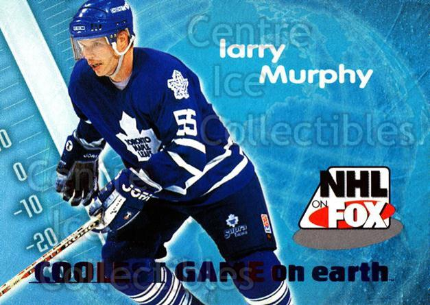 1996-97 SkyBox Impact NHL on Fox #15 Larry Murphy<br/>1 In Stock - $2.00 each - <a href=https://centericecollectibles.foxycart.com/cart?name=1996-97%20SkyBox%20Impact%20NHL%20on%20Fox%20%2315%20Larry%20Murphy...&quantity_max=1&price=$2.00&code=52112 class=foxycart> Buy it now! </a>