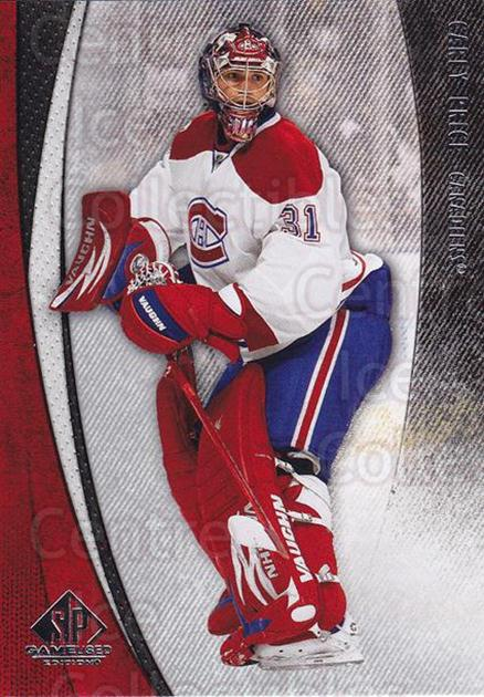 2010-11 Sp Game Used #50 Carey Price<br/>1 In Stock - $5.00 each - <a href=https://centericecollectibles.foxycart.com/cart?name=2010-11%20Sp%20Game%20Used%20%2350%20Carey%20Price...&quantity_max=1&price=$5.00&code=521579 class=foxycart> Buy it now! </a>