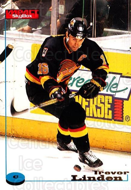 1996-97 SkyBox Impact #133 Trevor Linden<br/>5 In Stock - $1.00 each - <a href=https://centericecollectibles.foxycart.com/cart?name=1996-97%20SkyBox%20Impact%20%23133%20Trevor%20Linden...&quantity_max=5&price=$1.00&code=52160 class=foxycart> Buy it now! </a>