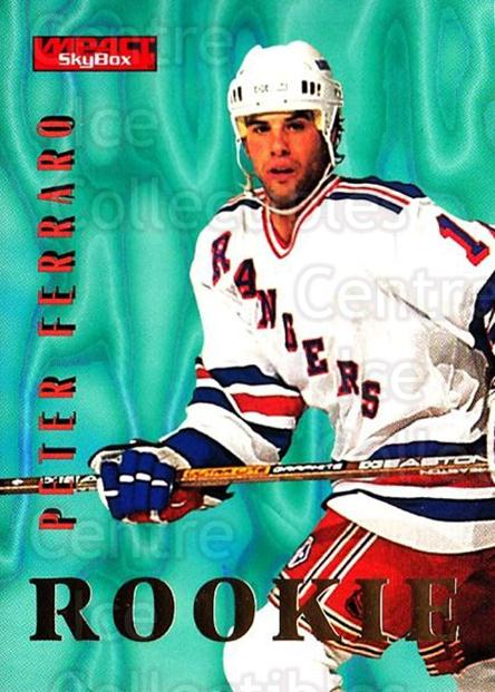 1996-97 SkyBox Impact #149 Peter Ferraro<br/>5 In Stock - $1.00 each - <a href=https://centericecollectibles.foxycart.com/cart?name=1996-97%20SkyBox%20Impact%20%23149%20Peter%20Ferraro...&price=$1.00&code=52176 class=foxycart> Buy it now! </a>