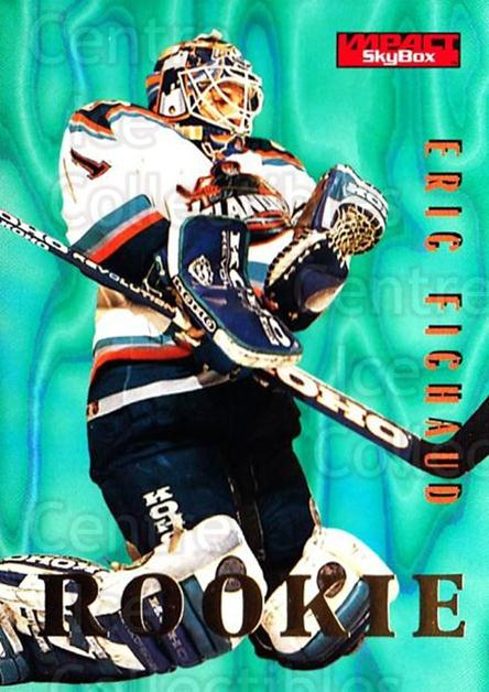 1996-97 SkyBox Impact #150 Eric Fichaud<br/>5 In Stock - $1.00 each - <a href=https://centericecollectibles.foxycart.com/cart?name=1996-97%20SkyBox%20Impact%20%23150%20Eric%20Fichaud...&price=$1.00&code=52178 class=foxycart> Buy it now! </a>