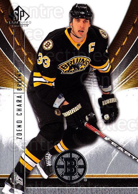 2009-10 Sp Game Used #7 Zdeno Chara<br/>2 In Stock - $1.00 each - <a href=https://centericecollectibles.foxycart.com/cart?name=2009-10%20Sp%20Game%20Used%20%237%20Zdeno%20Chara...&quantity_max=2&price=$1.00&code=522136 class=foxycart> Buy it now! </a>