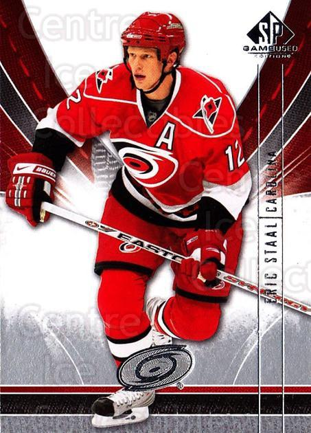 2009-10 Sp Game Used #19 Eric Staal<br/>2 In Stock - $1.00 each - <a href=https://centericecollectibles.foxycart.com/cart?name=2009-10%20Sp%20Game%20Used%20%2319%20Eric%20Staal...&quantity_max=2&price=$1.00&code=522148 class=foxycart> Buy it now! </a>