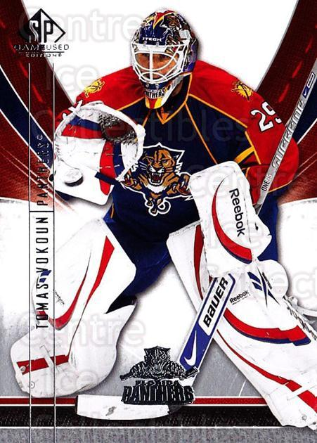 2009-10 Sp Game Used #43 Tomas Vokoun<br/>2 In Stock - $1.00 each - <a href=https://centericecollectibles.foxycart.com/cart?name=2009-10%20Sp%20Game%20Used%20%2343%20Tomas%20Vokoun...&quantity_max=2&price=$1.00&code=522172 class=foxycart> Buy it now! </a>