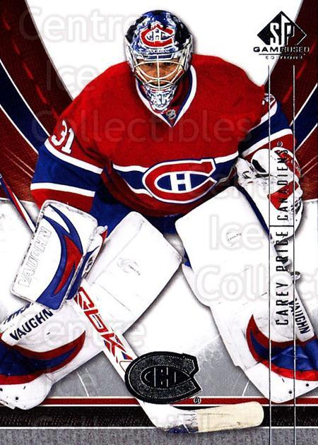 2009-10 Sp Game Used #52 Carey Price<br/>2 In Stock - $5.00 each - <a href=https://centericecollectibles.foxycart.com/cart?name=2009-10%20Sp%20Game%20Used%20%2352%20Carey%20Price...&quantity_max=2&price=$5.00&code=522181 class=foxycart> Buy it now! </a>