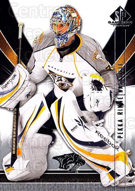 2009-10 Sp Game Used #56 Pekka Rinne<br/>1 In Stock - $1.00 each - <a href=https://centericecollectibles.foxycart.com/cart?name=2009-10%20Sp%20Game%20Used%20%2356%20Pekka%20Rinne...&quantity_max=1&price=$1.00&code=522185 class=foxycart> Buy it now! </a>