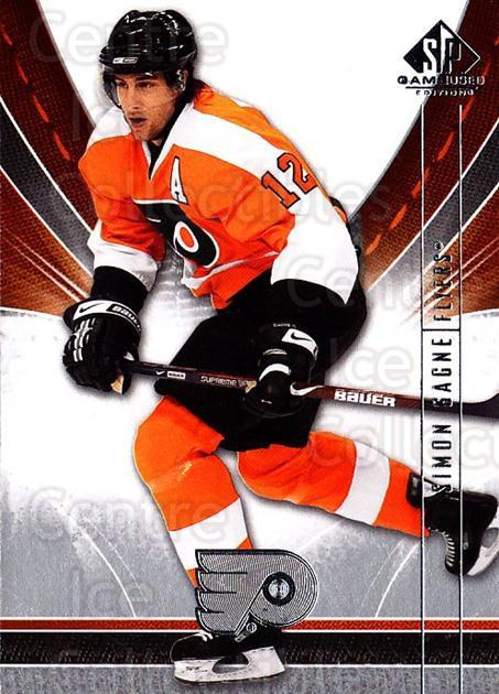 2009-10 Sp Game Used #73 Simon Gagne<br/>2 In Stock - $1.00 each - <a href=https://centericecollectibles.foxycart.com/cart?name=2009-10%20Sp%20Game%20Used%20%2373%20Simon%20Gagne...&quantity_max=2&price=$1.00&code=522202 class=foxycart> Buy it now! </a>