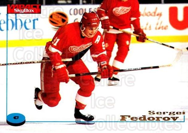 1996-97 SkyBox Impact #34 Sergei Fedorov<br/>4 In Stock - $2.00 each - <a href=https://centericecollectibles.foxycart.com/cart?name=1996-97%20SkyBox%20Impact%20%2334%20Sergei%20Fedorov...&quantity_max=4&price=$2.00&code=52221 class=foxycart> Buy it now! </a>