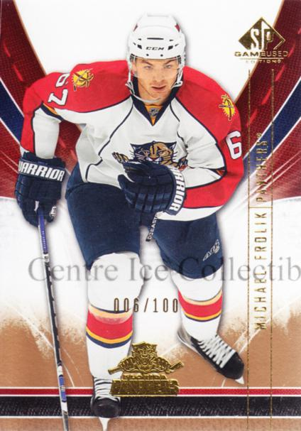 2009-10 Sp Game Used Gold #45 Michael Frolik<br/>1 In Stock - $5.00 each - <a href=https://centericecollectibles.foxycart.com/cart?name=2009-10%20Sp%20Game%20Used%20Gold%20%2345%20Michael%20Frolik...&quantity_max=1&price=$5.00&code=522374 class=foxycart> Buy it now! </a>