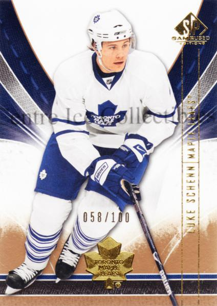 2009-10 Sp Game Used Gold #92 Luke Schenn<br/>1 In Stock - $5.00 each - <a href=https://centericecollectibles.foxycart.com/cart?name=2009-10%20Sp%20Game%20Used%20Gold%20%2392%20Luke%20Schenn...&quantity_max=1&price=$5.00&code=522421 class=foxycart> Buy it now! </a>