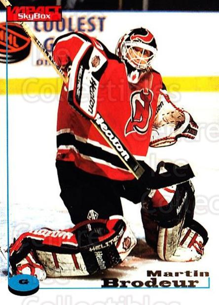 1996-97 SkyBox Impact #68 Martin Brodeur<br/>3 In Stock - $2.00 each - <a href=https://centericecollectibles.foxycart.com/cart?name=1996-97%20SkyBox%20Impact%20%2368%20Martin%20Brodeur...&price=$2.00&code=52257 class=foxycart> Buy it now! </a>