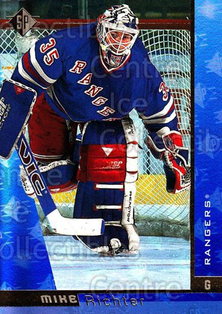 1996-97 SP #100 Mike Richter<br/>6 In Stock - $1.00 each - <a href=https://centericecollectibles.foxycart.com/cart?name=1996-97%20SP%20%23100%20Mike%20Richter...&quantity_max=6&price=$1.00&code=52297 class=foxycart> Buy it now! </a>