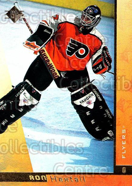 1996-97 SP #116 Ron Hextall<br/>6 In Stock - $1.00 each - <a href=https://centericecollectibles.foxycart.com/cart?name=1996-97%20SP%20%23116%20Ron%20Hextall...&quantity_max=6&price=$1.00&code=52314 class=foxycart> Buy it now! </a>