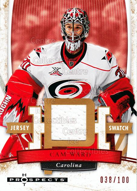 2007-08 Hot Prospects Red Hot #13 Cam Ward<br/>1 In Stock - $5.00 each - <a href=https://centericecollectibles.foxycart.com/cart?name=2007-08%20Hot%20Prospects%20Red%20Hot%20%2313%20Cam%20Ward...&price=$5.00&code=523242 class=foxycart> Buy it now! </a>