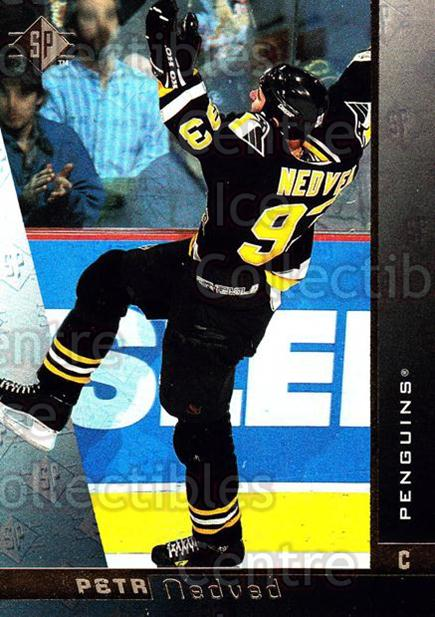1996-97 SP #128 Petr Nedved<br/>6 In Stock - $1.00 each - <a href=https://centericecollectibles.foxycart.com/cart?name=1996-97%20SP%20%23128%20Petr%20Nedved...&quantity_max=6&price=$1.00&code=52325 class=foxycart> Buy it now! </a>