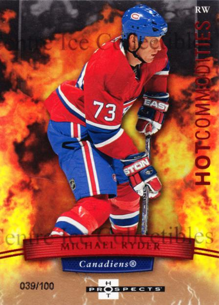 2007-08 Hot Prospects Red Hot #137 Michael Ryder<br/>1 In Stock - $5.00 each - <a href=https://centericecollectibles.foxycart.com/cart?name=2007-08%20Hot%20Prospects%20Red%20Hot%20%23137%20Michael%20Ryder...&quantity_max=1&price=$5.00&code=523371 class=foxycart> Buy it now! </a>