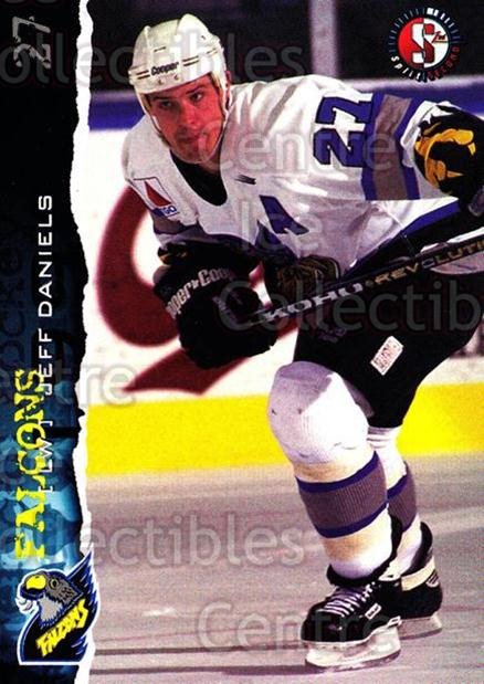 1996-97 Springfield Falcons #16 Jeff Daniels<br/>4 In Stock - $3.00 each - <a href=https://centericecollectibles.foxycart.com/cart?name=1996-97%20Springfield%20Falcons%20%2316%20Jeff%20Daniels...&quantity_max=4&price=$3.00&code=52419 class=foxycart> Buy it now! </a>