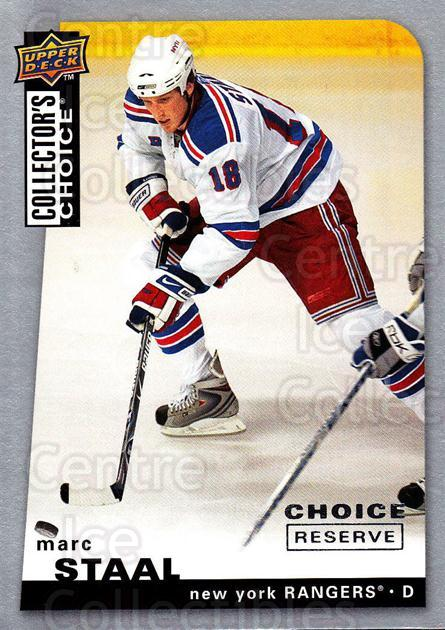 2008-09 Collectors Choice Reserve Silver #97 Marc Staal<br/>2 In Stock - $2.00 each - <a href=https://centericecollectibles.foxycart.com/cart?name=2008-09%20Collectors%20Choice%20Reserve%20Silver%20%2397%20Marc%20Staal...&quantity_max=2&price=$2.00&code=526047 class=foxycart> Buy it now! </a>