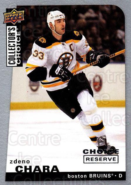 2008-09 Collectors Choice Reserve Silver #200 Zdeno Chara<br/>2 In Stock - $2.00 each - <a href=https://centericecollectibles.foxycart.com/cart?name=2008-09%20Collectors%20Choice%20Reserve%20Silver%20%23200%20Zdeno%20Chara...&quantity_max=2&price=$2.00&code=526150 class=foxycart> Buy it now! </a>