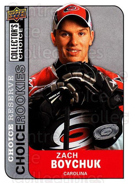 2008-09 Collectors Choice Reserve Silver #205 Zach Boychuk<br/>2 In Stock - $3.00 each - <a href=https://centericecollectibles.foxycart.com/cart?name=2008-09%20Collectors%20Choice%20Reserve%20Silver%20%23205%20Zach%20Boychuk...&quantity_max=2&price=$3.00&code=526155 class=foxycart> Buy it now! </a>