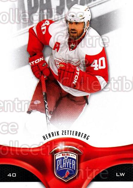 2009-10 Be A Player #38 Henrik Zetterberg<br/>1 In Stock - $2.00 each - <a href=https://centericecollectibles.foxycart.com/cart?name=2009-10%20Be%20A%20Player%20%2338%20Henrik%20Zetterbe...&quantity_max=1&price=$2.00&code=529459 class=foxycart> Buy it now! </a>