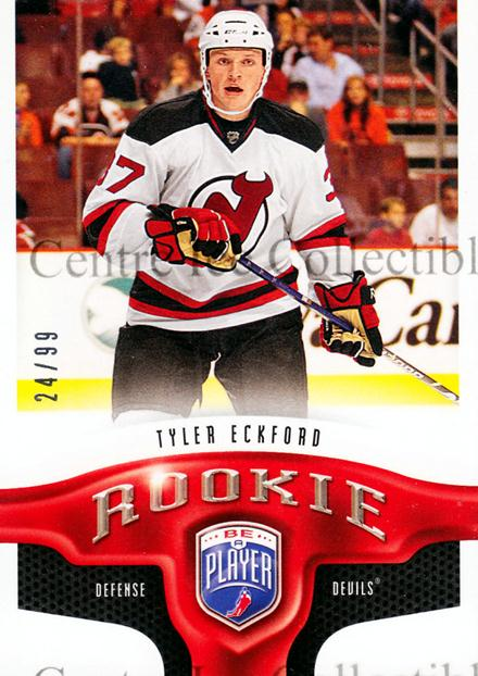 2009-10 Be A Player #205 Tyler Eckford<br/>1 In Stock - $5.00 each - <a href=https://centericecollectibles.foxycart.com/cart?name=2009-10%20Be%20A%20Player%20%23205%20Tyler%20Eckford...&price=$5.00&code=529626 class=foxycart> Buy it now! </a>