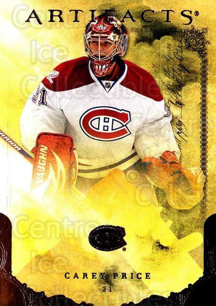 2010-11 UD Artifacts #7 Carey Price<br/>1 In Stock - $3.00 each - <a href=https://centericecollectibles.foxycart.com/cart?name=2010-11%20UD%20Artifacts%20%237%20Carey%20Price...&price=$3.00&code=530338 class=foxycart> Buy it now! </a>