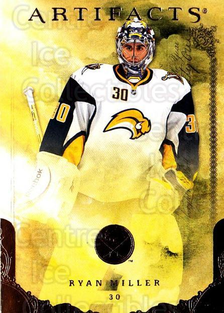 2010-11 UD Artifacts #11 Ryan Miller<br/>1 In Stock - $1.00 each - <a href=https://centericecollectibles.foxycart.com/cart?name=2010-11%20UD%20Artifacts%20%2311%20Ryan%20Miller...&quantity_max=1&price=$1.00&code=530342 class=foxycart> Buy it now! </a>