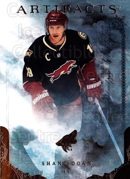 2010-11 UD Artifacts #18 Shane Doan<br/>1 In Stock - $1.00 each - <a href=https://centericecollectibles.foxycart.com/cart?name=2010-11%20UD%20Artifacts%20%2318%20Shane%20Doan...&quantity_max=1&price=$1.00&code=530349 class=foxycart> Buy it now! </a>