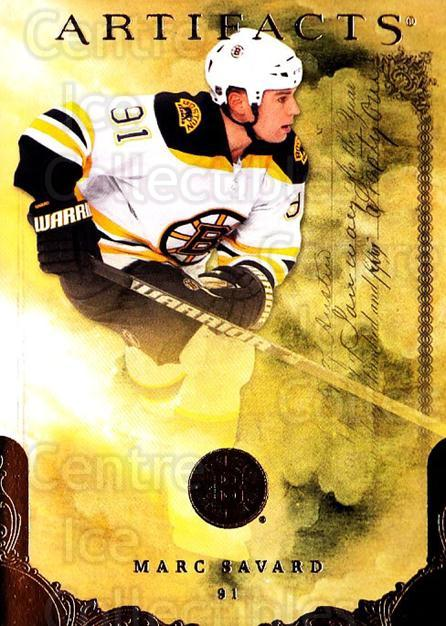 2010-11 UD Artifacts #26 Marc Savard<br/>1 In Stock - $1.00 each - <a href=https://centericecollectibles.foxycart.com/cart?name=2010-11%20UD%20Artifacts%20%2326%20Marc%20Savard...&quantity_max=1&price=$1.00&code=530357 class=foxycart> Buy it now! </a>