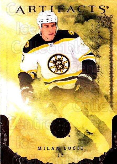 2010-11 UD Artifacts #45 Milan Lucic<br/>1 In Stock - $1.00 each - <a href=https://centericecollectibles.foxycart.com/cart?name=2010-11%20UD%20Artifacts%20%2345%20Milan%20Lucic...&quantity_max=1&price=$1.00&code=530376 class=foxycart> Buy it now! </a>
