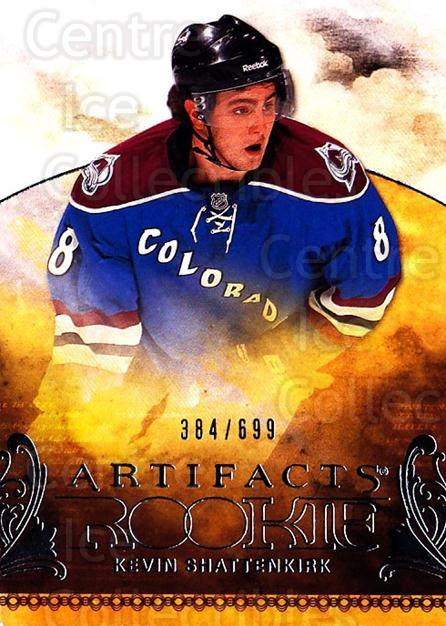 2010-11 UD Artifacts #208 Kevin Shattenkirk<br/>1 In Stock - $5.00 each - <a href=https://centericecollectibles.foxycart.com/cart?name=2010-11%20UD%20Artifacts%20%23208%20Kevin%20Shattenki...&quantity_max=1&price=$5.00&code=530539 class=foxycart> Buy it now! </a>
