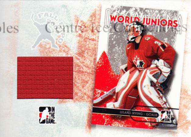 2007 Fall Expo O Canada Memorabilia #1 Leland Irving<br/>2 In Stock - $10.00 each - <a href=https://centericecollectibles.foxycart.com/cart?name=2007%20Fall%20Expo%20O%20Canada%20Memorabilia%20%231%20Leland%20Irving...&quantity_max=2&price=$10.00&code=531515 class=foxycart> Buy it now! </a>