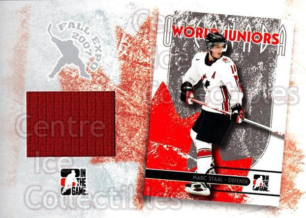 2007 Fall Expo O Canada Memorabilia #6 Marc Staal<br/>5 In Stock - $10.00 each - <a href=https://centericecollectibles.foxycart.com/cart?name=2007%20Fall%20Expo%20O%20Canada%20Memorabilia%20%236%20Marc%20Staal...&quantity_max=5&price=$10.00&code=531520 class=foxycart> Buy it now! </a>
