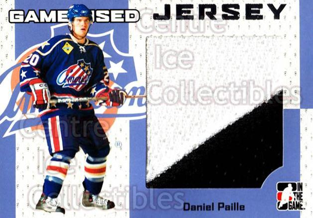 2006-07 ITG Heroes and Prospects Jersey Silver #28 Daniel Paille<br/>1 In Stock - $5.00 each - <a href=https://centericecollectibles.foxycart.com/cart?name=2006-07%20ITG%20Heroes%20and%20Prospects%20Jersey%20Silver%20%2328%20Daniel%20Paille...&quantity_max=1&price=$5.00&code=531606 class=foxycart> Buy it now! </a>