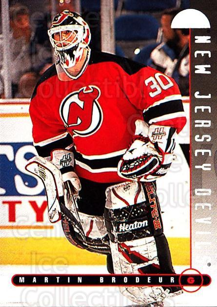 1995-96 Leaf #66 Martin Brodeur<br/>1 In Stock - $2.00 each - <a href=https://centericecollectibles.foxycart.com/cart?name=1995-96%20Leaf%20%2366%20Martin%20Brodeur...&price=$2.00&code=531679 class=foxycart> Buy it now! </a>