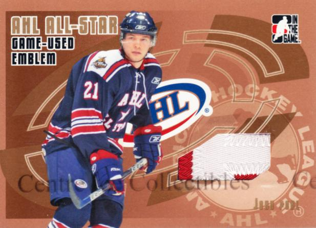 2006-07 ITG Heroes and Prospects AHL AS Emblem Gold #4 John Pohl<br/>1 In Stock - $15.00 each - <a href=https://centericecollectibles.foxycart.com/cart?name=2006-07%20ITG%20Heroes%20and%20Prospects%20AHL%20AS%20Emblem%20Gold%20%234%20John%20Pohl...&quantity_max=1&price=$15.00&code=532081 class=foxycart> Buy it now! </a>