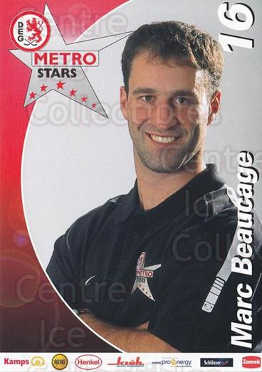 2002-03 German DEG Metro Stars Postcards #1 Marc Beaucage<br/>1 In Stock - $3.00 each - <a href=https://centericecollectibles.foxycart.com/cart?name=2002-03%20German%20DEG%20Metro%20Stars%20Postcards%20%231%20Marc%20Beaucage...&quantity_max=1&price=$3.00&code=534668 class=foxycart> Buy it now! </a>