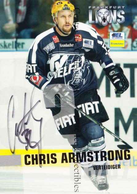 2006-07 German Frankfurt Lions Postcards #2 Chris Armstrong<br/>1 In Stock - $3.00 each - <a href=https://centericecollectibles.foxycart.com/cart?name=2006-07%20German%20Frankfurt%20Lions%20Postcards%20%232%20Chris%20Armstrong...&quantity_max=1&price=$3.00&code=534743 class=foxycart> Buy it now! </a>