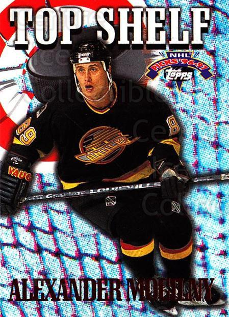 1996-97 Topps Picks Top Shelf #9 Alexander Mogilny<br/>12 In Stock - $2.00 each - <a href=https://centericecollectibles.foxycart.com/cart?name=1996-97%20Topps%20Picks%20Top%20Shelf%20%239%20Alexander%20Mogil...&quantity_max=12&price=$2.00&code=53495 class=foxycart> Buy it now! </a>