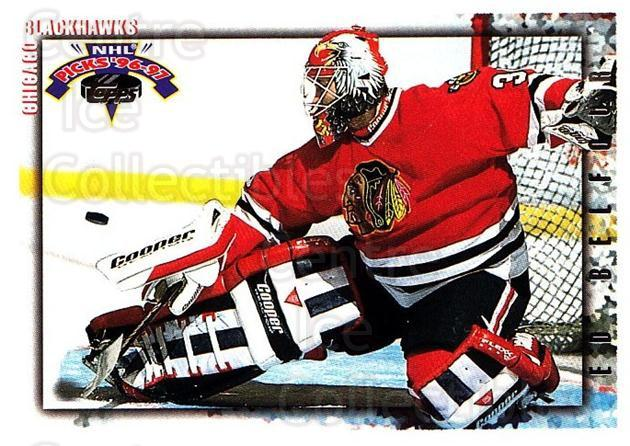 1996-97 Topps Picks #179 Ed Belfour<br/>5 In Stock - $1.00 each - <a href=https://centericecollectibles.foxycart.com/cart?name=1996-97%20Topps%20Picks%20%23179%20Ed%20Belfour...&price=$1.00&code=53538 class=foxycart> Buy it now! </a>