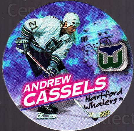 1995-96 Canada Games NHL POGS #124 Andrew Cassels<br/>8 In Stock - $1.00 each - <a href=https://centericecollectibles.foxycart.com/cart?name=1995-96%20Canada%20Games%20NHL%20POGS%20%23124%20Andrew%20Cassels...&quantity_max=8&price=$1.00&code=535590 class=foxycart> Buy it now! </a>