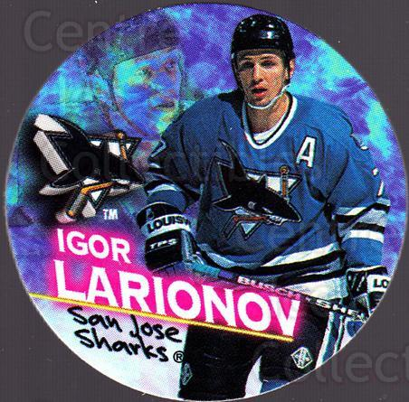 1995-96 Canada Games NHL POGS #222 Igor Larionov<br/>7 In Stock - $1.00 each - <a href=https://centericecollectibles.foxycart.com/cart?name=1995-96%20Canada%20Games%20NHL%20POGS%20%23222%20Igor%20Larionov...&quantity_max=7&price=$1.00&code=535688 class=foxycart> Buy it now! </a>