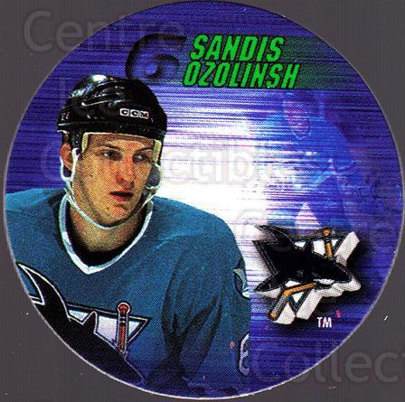 1995-96 Canada Games NHL POGS #231 Sandis Ozolinsh<br/>3 In Stock - $1.00 each - <a href=https://centericecollectibles.foxycart.com/cart?name=1995-96%20Canada%20Games%20NHL%20POGS%20%23231%20Sandis%20Ozolinsh...&quantity_max=3&price=$1.00&code=535697 class=foxycart> Buy it now! </a>