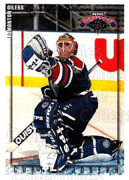 1996-97 Topps Picks #83 Curtis Joseph<br/>4 In Stock - $1.00 each - <a href=https://centericecollectibles.foxycart.com/cart?name=1996-97%20Topps%20Picks%20%2383%20Curtis%20Joseph...&quantity_max=4&price=$1.00&code=53573 class=foxycart> Buy it now! </a>