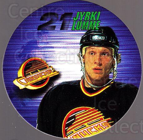 1995-96 Canada Games NHL POGS #277 Jyrki Lumme<br/>4 In Stock - $1.00 each - <a href=https://centericecollectibles.foxycart.com/cart?name=1995-96%20Canada%20Games%20NHL%20POGS%20%23277%20Jyrki%20Lumme...&quantity_max=4&price=$1.00&code=535743 class=foxycart> Buy it now! </a>