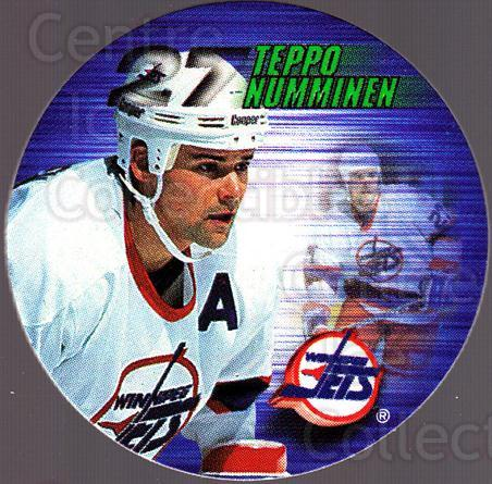 <a href=index.aspx?SetName=1995-96%20Canada%20Games%20NHL%20POGS>1995-96 Canada Games NHL POGS</a> #294 <a href=index.aspx?PlayerName=Teppo%20Numminen> Teppo Numminen</a><br/>4 in stock - $1.00 each - <a href=https://centericecollectibles.foxycart.com/cart?name=1995-96%20Canada%20Games%20NHL%20POGS%20%23294%20Teppo%20Numminen...&price=$1.00&code=535760 class=foxycart> Buy it now! </a>