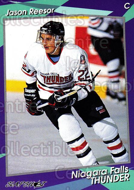 1993-94 Niagara Falls Thunder #16 Jason Reesor<br/>5 In Stock - $3.00 each - <a href=https://centericecollectibles.foxycart.com/cart?name=1993-94%20Niagara%20Falls%20Thunder%20%2316%20Jason%20Reesor...&quantity_max=5&price=$3.00&code=535 class=foxycart> Buy it now! </a>